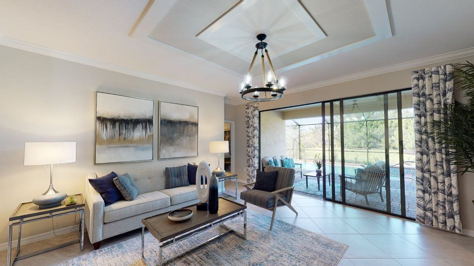 Living Area featured in the Tivoli By Lennar in Fort Myers, FL