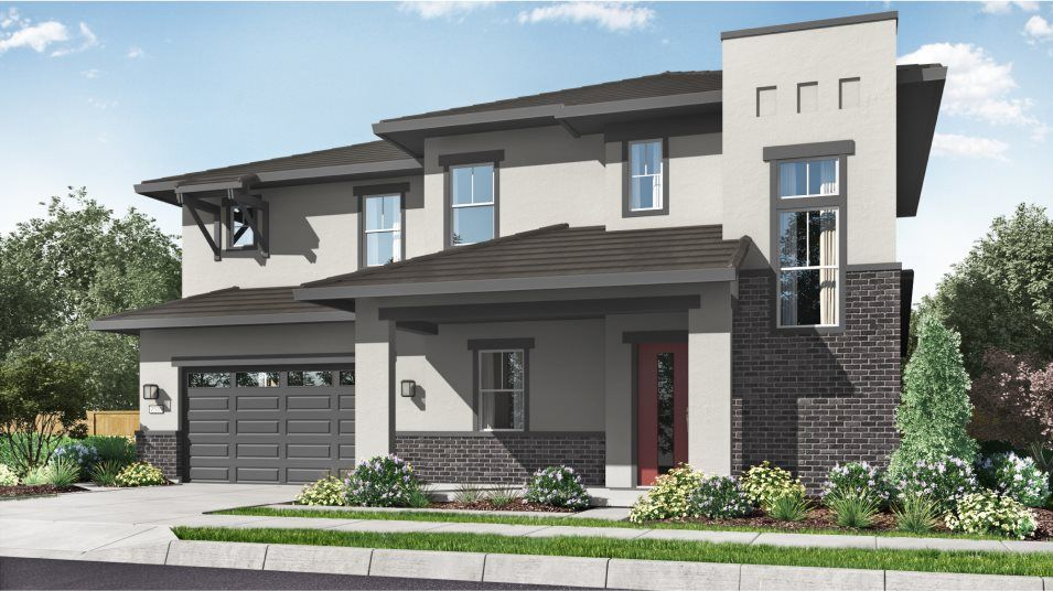 Exterior featured in the Residence 2531 By Lennar in Sacramento, CA
