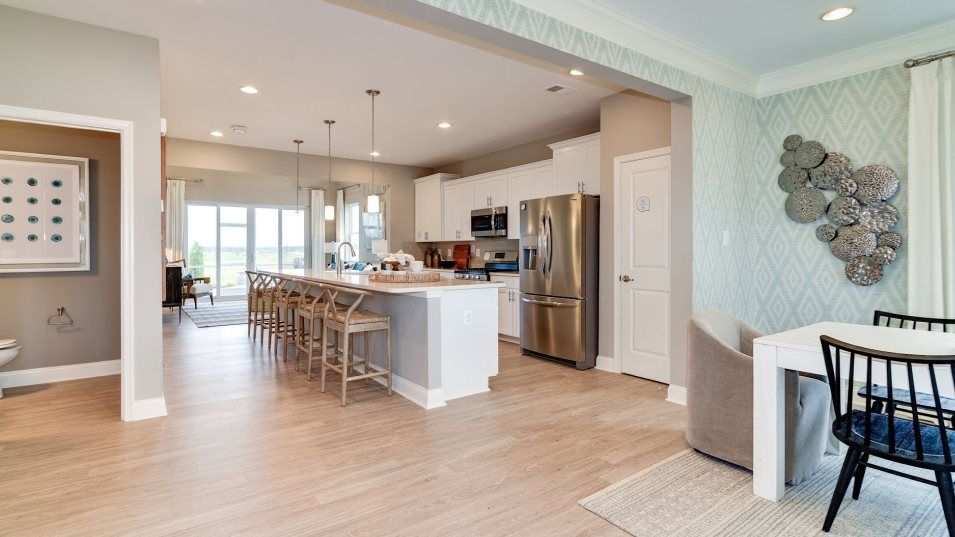 Kitchen featured in the Jennings By Lennar in Sussex, DE