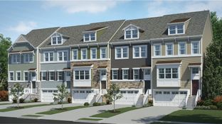 Ellicott Front Load Garage - Plantation Lakes - North Shore Townhomes: Millsboro, Delaware - Lennar
