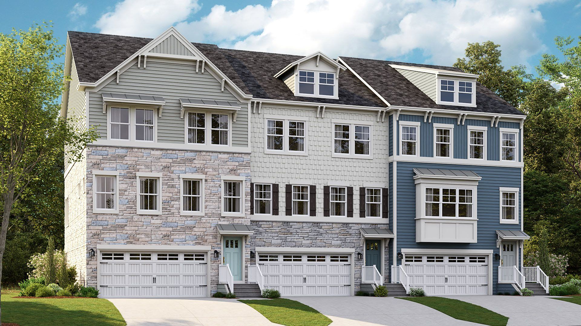 Exterior featured in the Easton FL By Lennar in Ocean City, MD