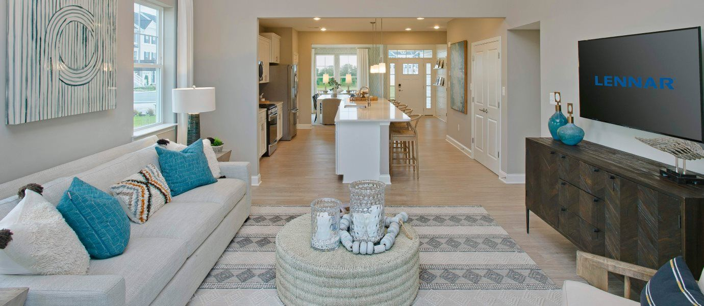 Living Area featured in the Jennings By Lennar in York, PA