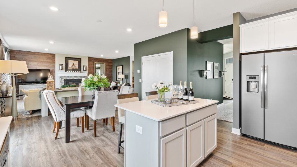 Kitchen featured in the Springfield By Lennar in Minneapolis-St. Paul, MN