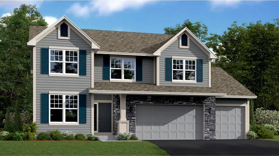 Exterior featured in the Taylor By Lennar in Minneapolis-St. Paul, MN