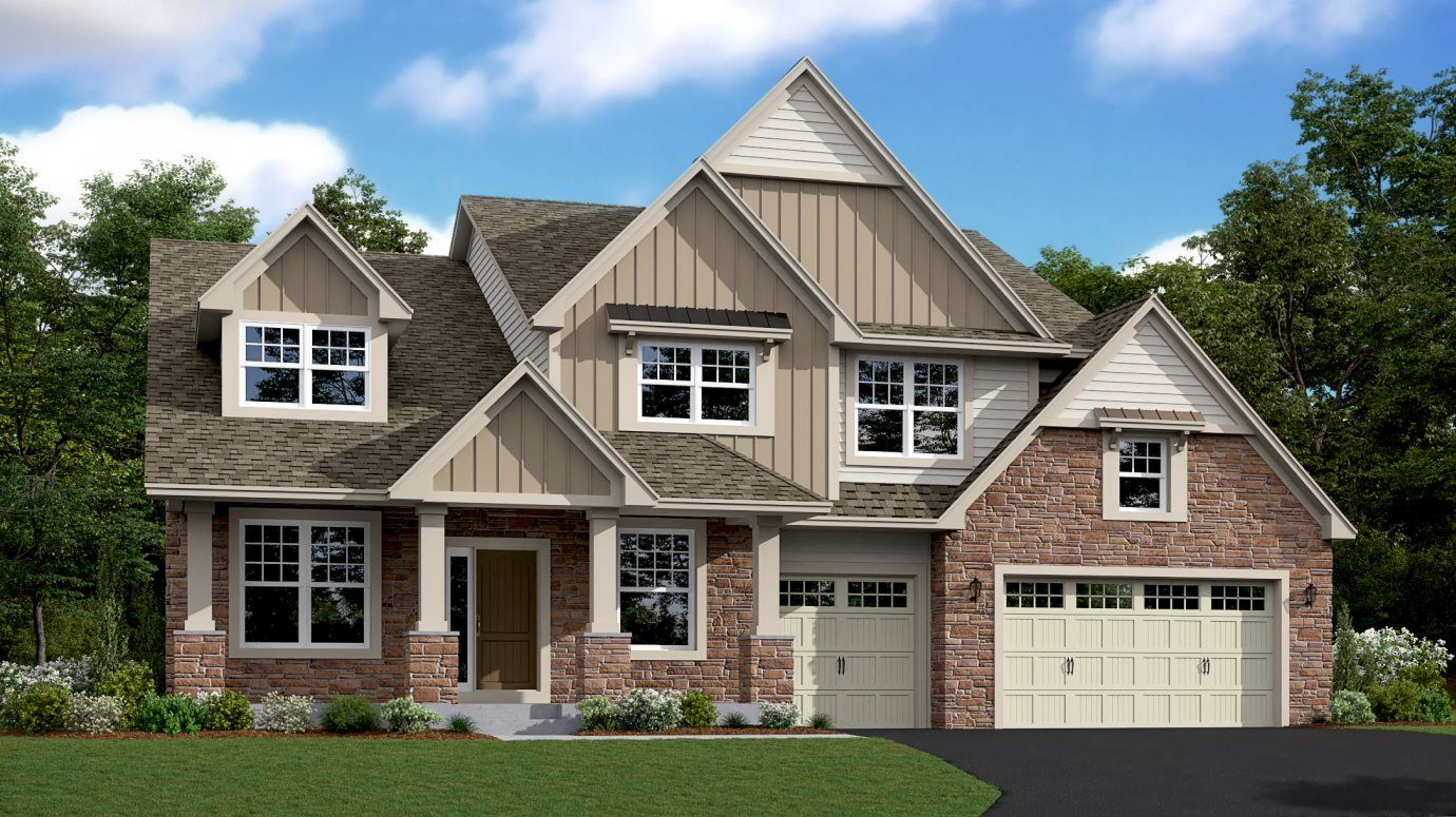Exterior featured in the Springdale By Lennar in Minneapolis-St. Paul, MN
