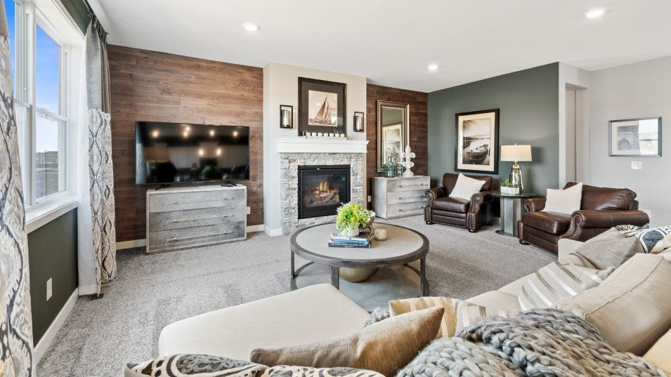 Living Area featured in the Springfield By Lennar in Minneapolis-St. Paul, MN