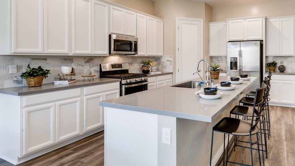 Kitchen featured in the Residence Thirteen By Lennar in Las Vegas, NV