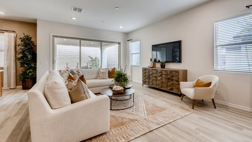 Living Area featured in the Residence Two By Lennar in Las Vegas, NV