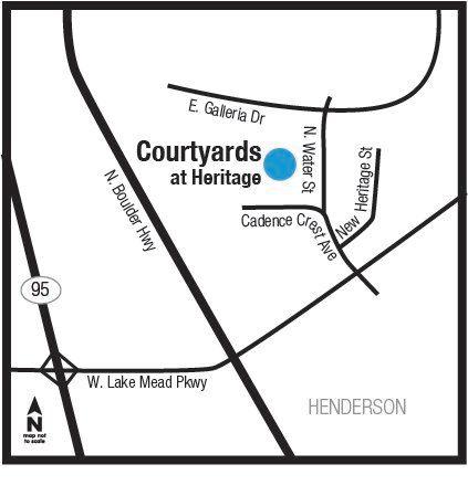 'Heritage at Cadence - Courtyards' by Lennar - Las Vegas in Las Vegas