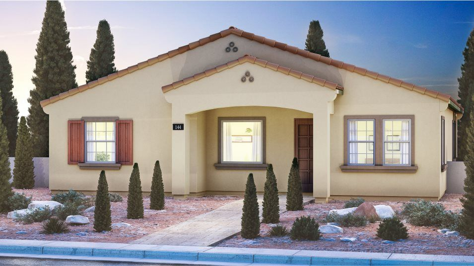 Exterior featured in the Adonis By Lennar in Las Vegas, NV