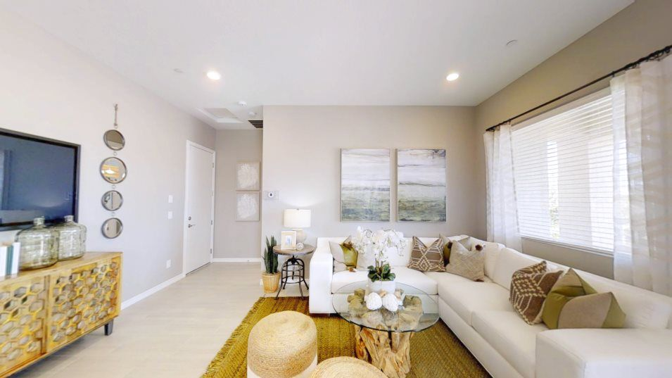 Living Area featured in the Adonis By Lennar in Las Vegas, NV