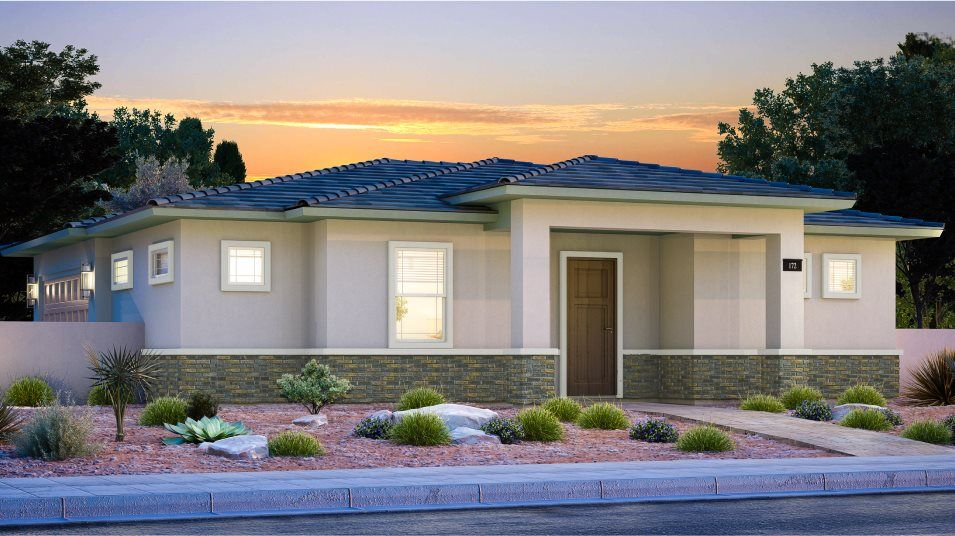 Exterior featured in the Grayling By Lennar in Las Vegas, NV