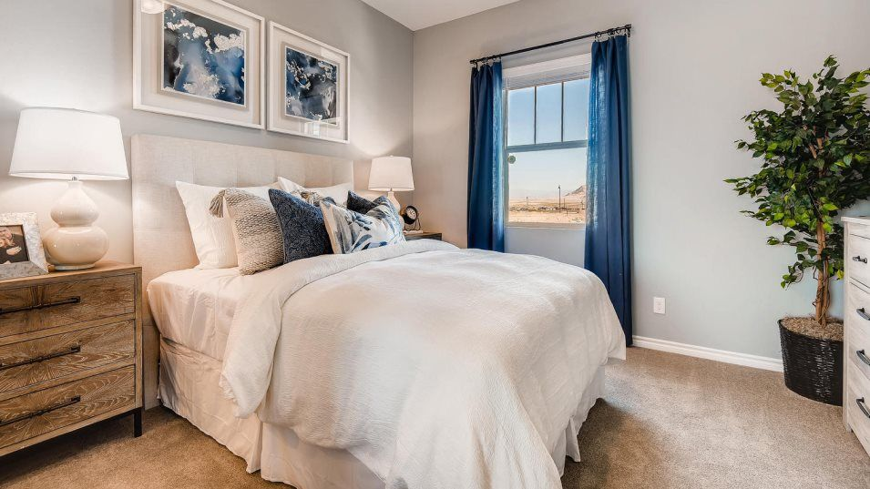 Bedroom featured in the Grayling By Lennar in Las Vegas, NV