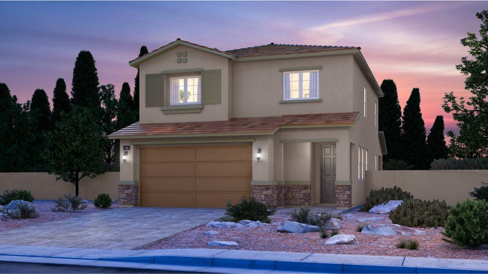 Exterior featured in the Glenbrook By Lennar in Las Vegas, NV