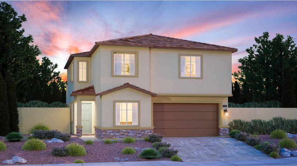 Exterior featured in the Nora By Lennar in Las Vegas, NV