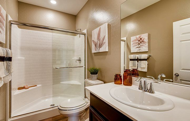 Bathroom featured in the Napoleon By Lennar in Las Vegas, NV