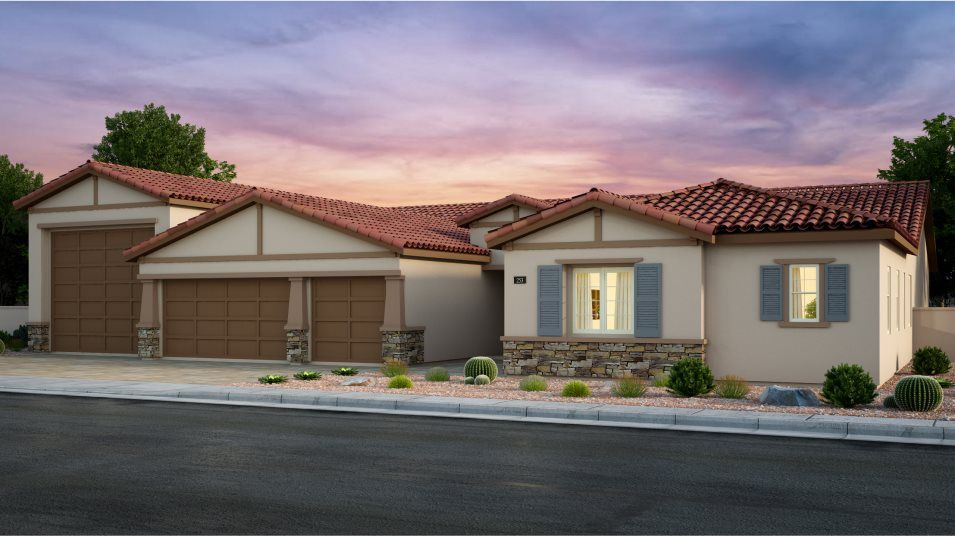 Exterior featured in the Charles By Lennar in Las Vegas, NV