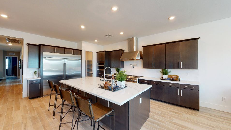 Kitchen featured in the Charles By Lennar in Las Vegas, NV