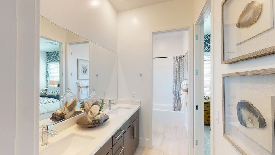 Bathroom featured in the Charles By Lennar in Las Vegas, NV