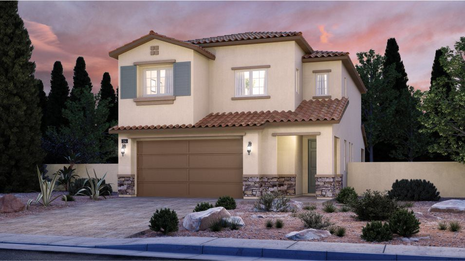 Exterior featured in the Kingsbury By Lennar in Las Vegas, NV