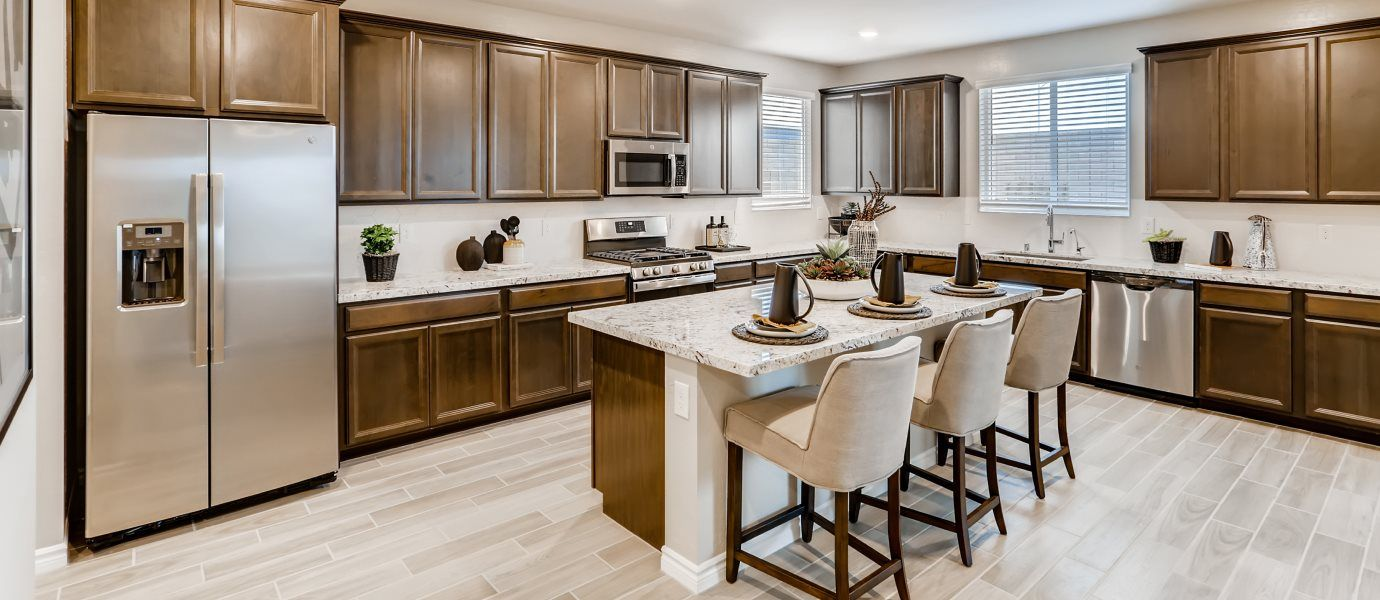 Kitchen featured in the Kingsbury By Lennar in Las Vegas, NV