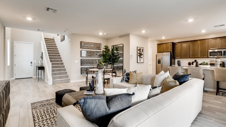 Living Area featured in the Kingsbury By Lennar in Las Vegas, NV