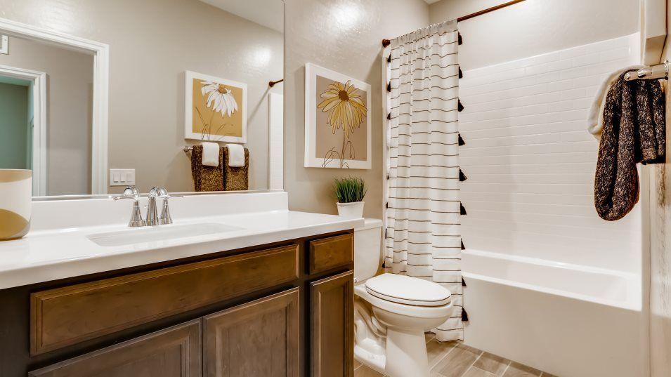 Bathroom featured in the Kingsbury By Lennar in Las Vegas, NV