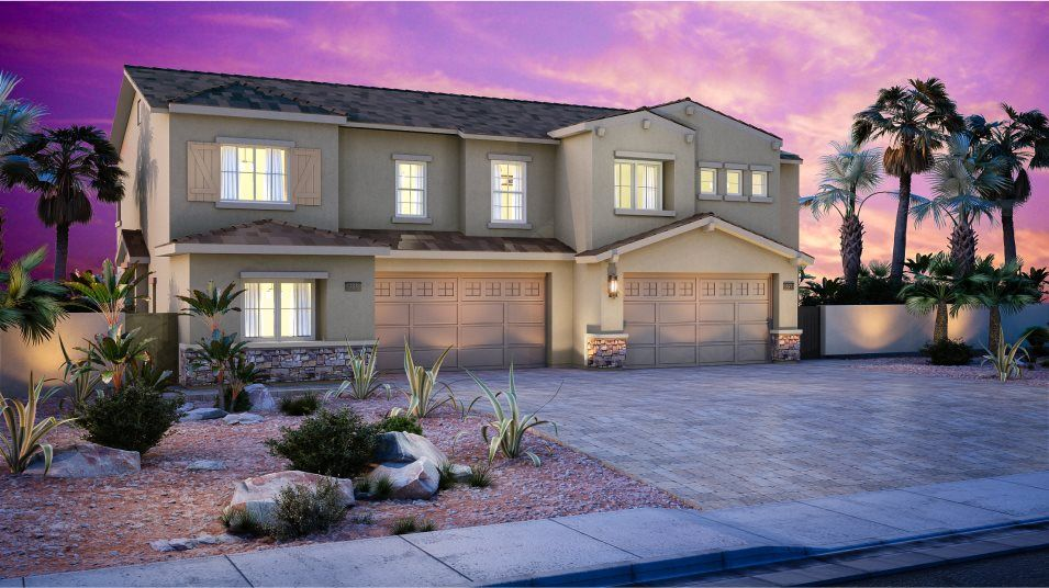 Exterior featured in the Somerset By Lennar in Las Vegas, NV