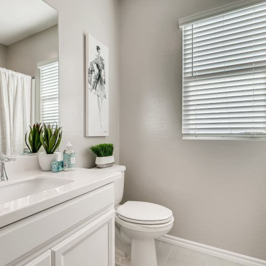 Bathroom featured in the Liberty By Lennar in Las Vegas, NV