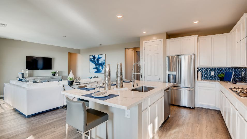 Kitchen featured in the Aspen By Lennar in Las Vegas, NV