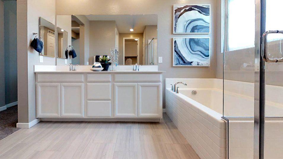 Bathroom featured in the Aspen By Lennar in Las Vegas, NV