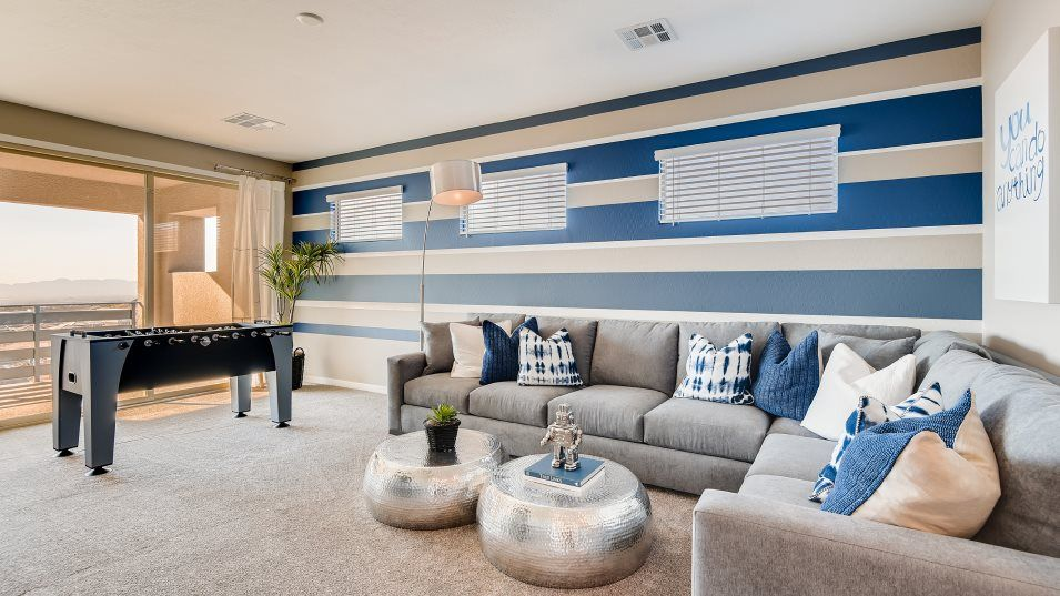 Living Area featured in the Aspen By Lennar in Las Vegas, NV