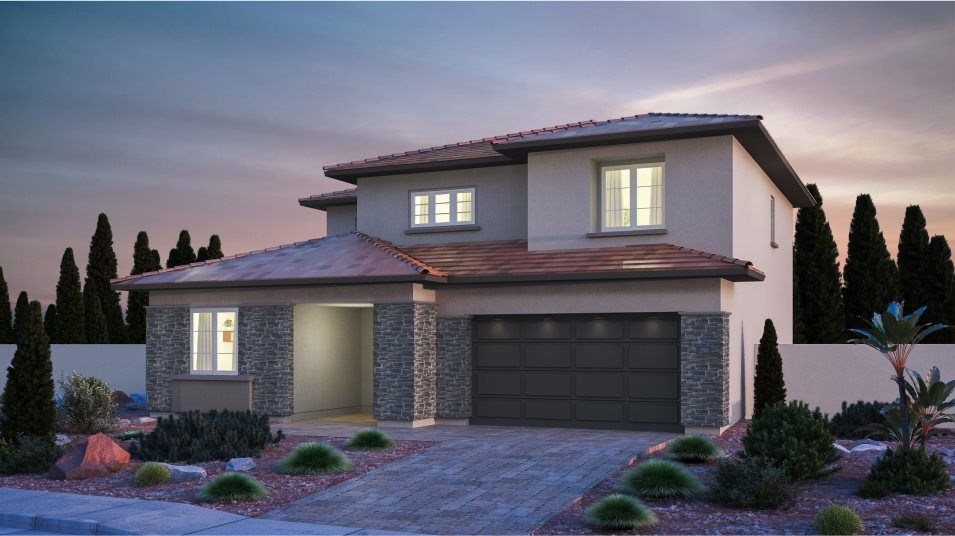 Exterior featured in the Hazel By Lennar in Las Vegas, NV
