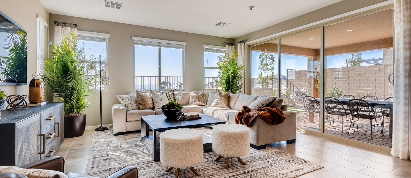 Living Area featured in the Hazel By Lennar in Las Vegas, NV