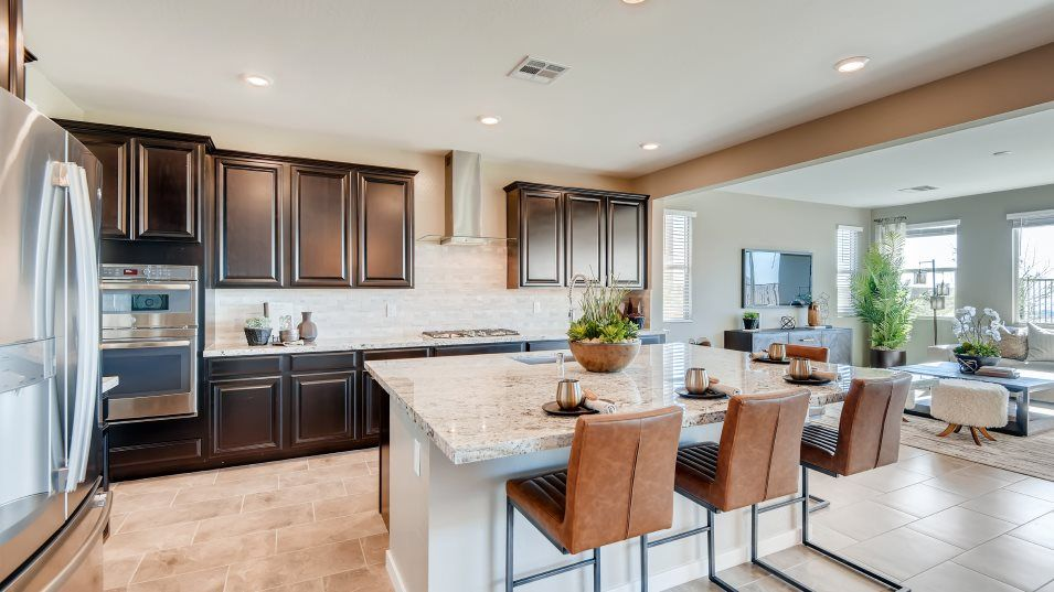 Kitchen featured in the Hazel By Lennar in Las Vegas, NV