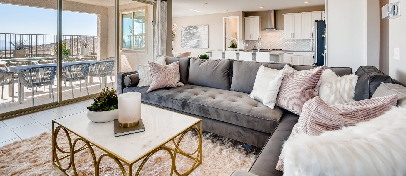 Living Area featured in the Mahogany By Lennar in Las Vegas, NV