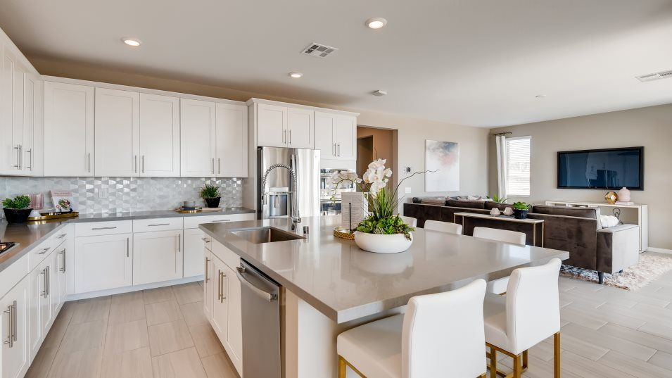 Kitchen featured in the Mahogany By Lennar in Las Vegas, NV