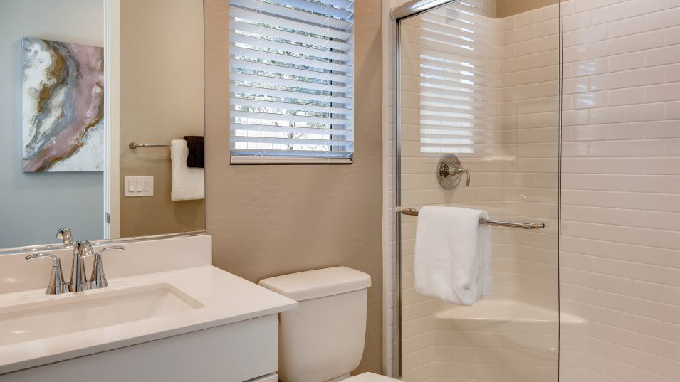 Bathroom featured in the Mahogany By Lennar in Las Vegas, NV