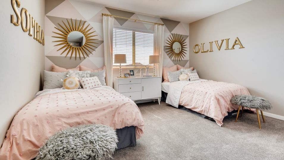 Bedroom featured in the Mahogany By Lennar in Las Vegas, NV