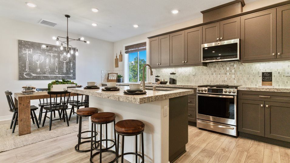 Kitchen featured in the Woodhaven 1 By Lennar in Los Angeles, CA