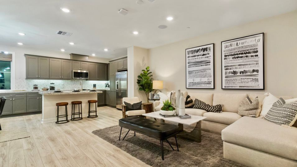 Living Area featured in the Woodhaven 1 By Lennar in Los Angeles, CA