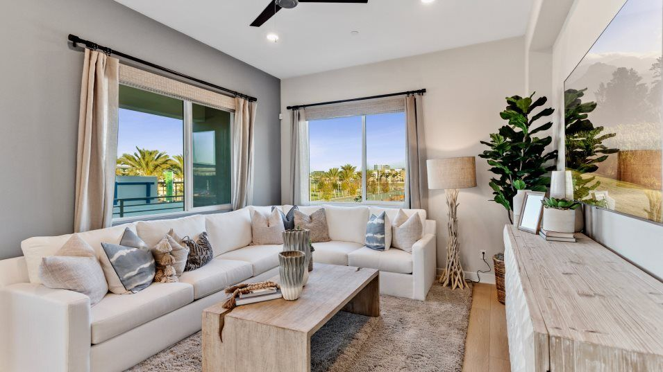 Living Area featured in the Sol 3 By Lennar in Orange County, CA