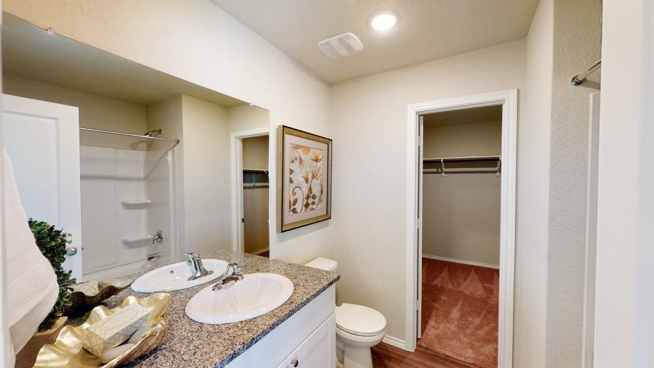 Bathroom featured in the Rundle By Lennar in San Antonio, TX