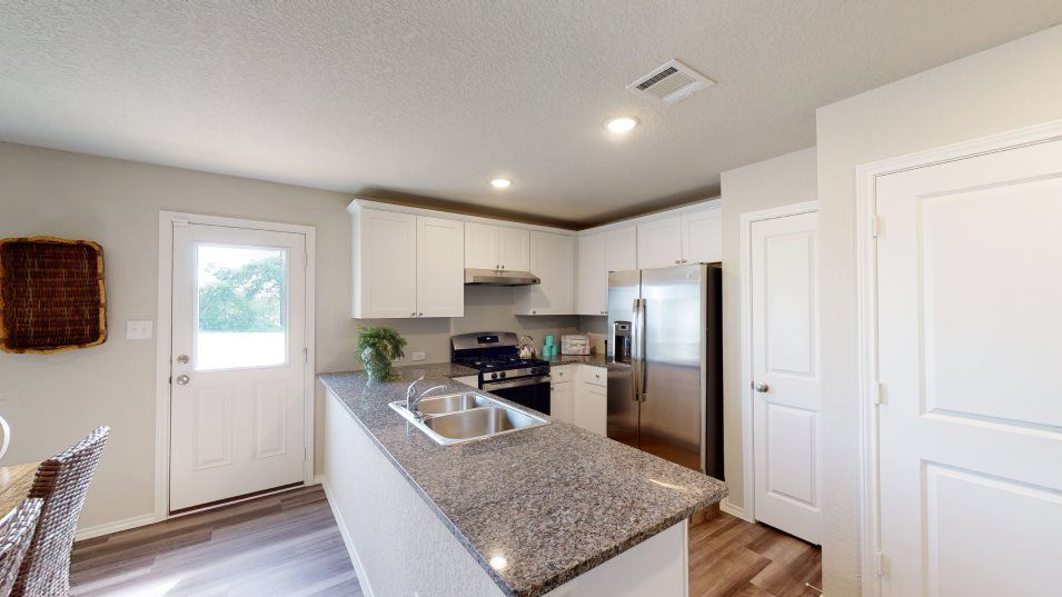 Kitchen featured in the Rundle By Lennar in San Antonio, TX