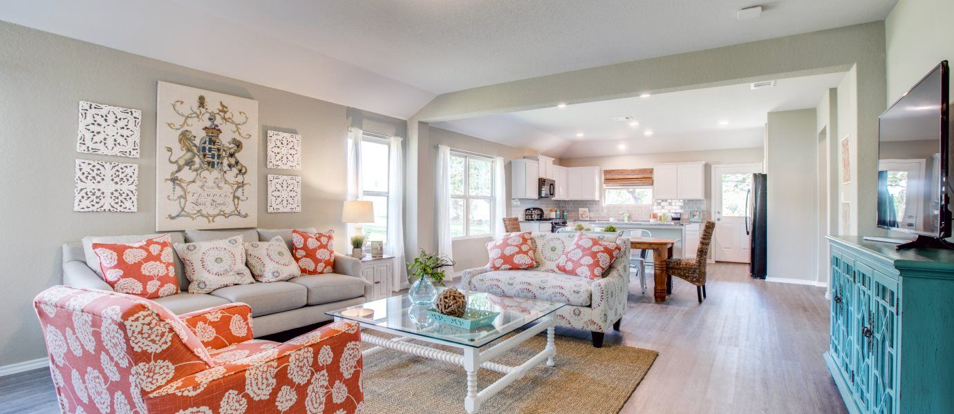 Living Area featured in the Houghton By Lennar in San Antonio, TX