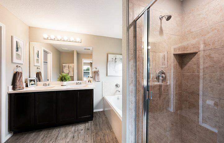 Bathroom featured in the Roffee By Lennar in San Antonio, TX