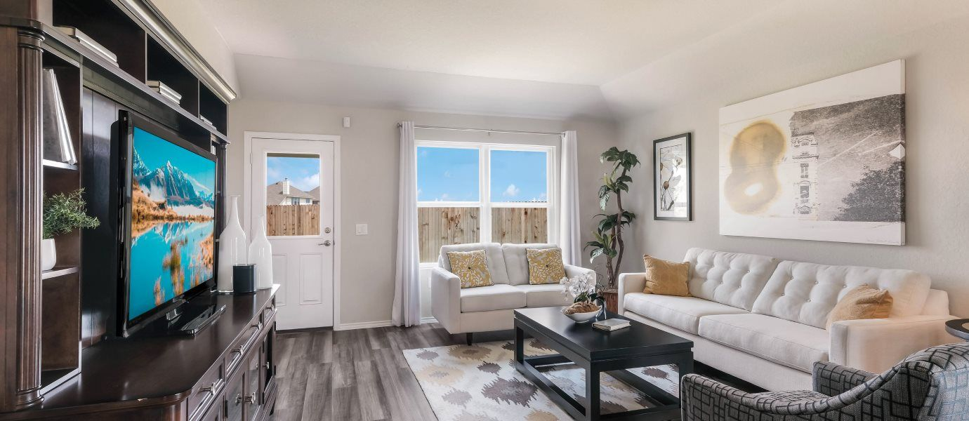 Living Area featured in the Abby By Lennar in San Antonio, TX