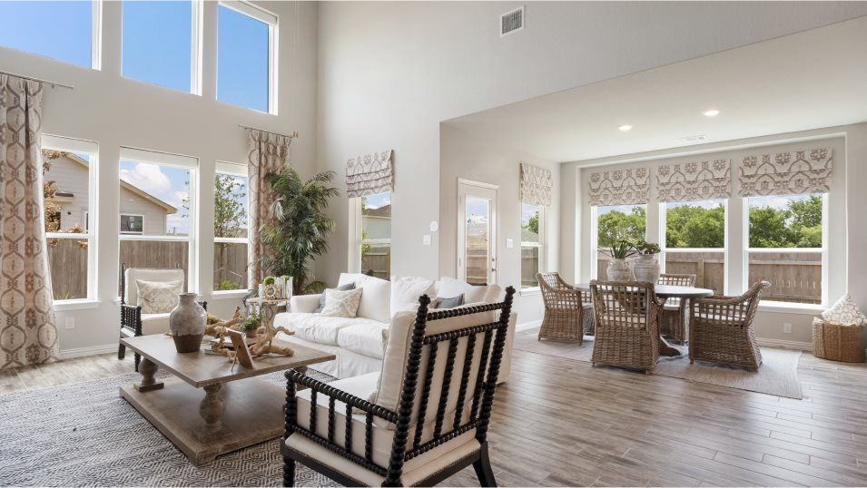 Living Area featured in the Madura By Lennar in San Antonio, TX