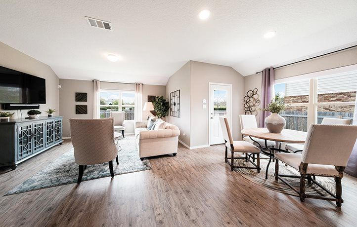Living Area featured in the Roffee By Lennar in San Antonio, TX