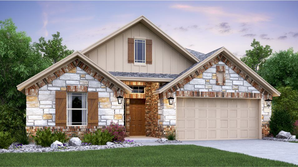 Exterior featured in the Gilson By Lennar in San Antonio, TX